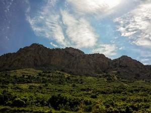 The rocky Peloponese