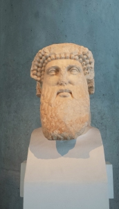 The real head of Zeus.